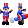 4th of July Patriotic Lawn Inflatables