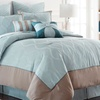 Oversized Embroidered Comforter Set (8-Piece)