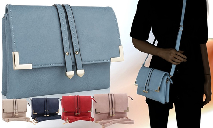 MKF Collection Esther Cross-Body Bag by Mia K. Farrow