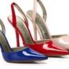 Kamalikulture Zaylie Patent Sling-Back Heels