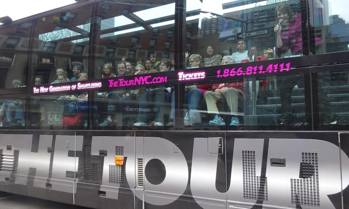 The Tour - Times Square: Adult or Childrens' Ticket to The Tour (Up to 26% Off)