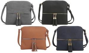 MKII Sadie Tassel Crossbody Purse