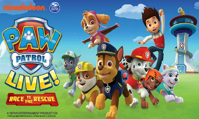 LifeLike Touring - Multiple Locations: Paw Patrol Live - Race to the Rescue, 29 July–27 August, Multiple Locations (Up to 50% Off)