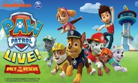 Paw Patrol Live - Race to the Rescue, 29 July–27 August, Multiple Locations (Up to 50% Off)
