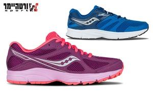 ספורט ורטהיימר: נעלי ריצה סאקוני לנשים וגברים דגם GRID LEXICON במגוון צבעים לבחירה, רק ב-299 ₪, דגם COVERT ב-349 ₪ בלבד