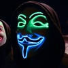 V for Vendetta Guy Fawkes Glowing Mask