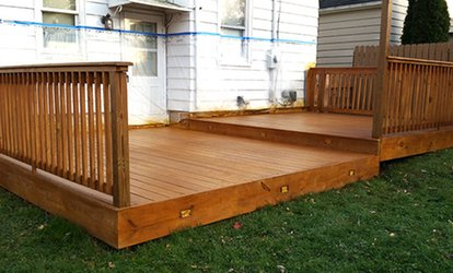 <strong>Pressure</strong> Cleaning for Deck, Patio, or Pavement from Protect A Deck and More (Up to 80% Off)