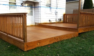 Protect A Deck and More: Pressure Cleaning for Deck, Patio, or Pavement from Protect A Deck and More (Up to 80% Off)