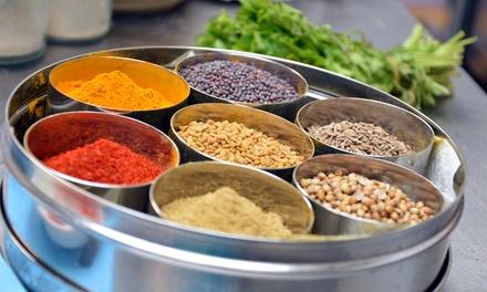 5gangen Indiaas tapas en currydinner bij Sugar and Spice Bites in Haarlem vanaf 2 pers.
