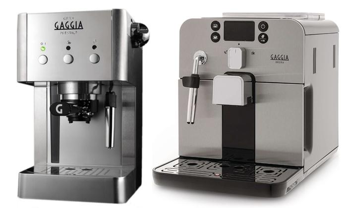 Macchina caff gaggia groupon goods - Macchina da caffe per casa ...