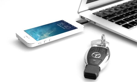 1, 2 o 3 llaveros USB Lightning para iPhone