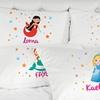 Kinder-Kissenbezug mit Namen