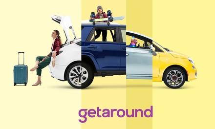 Paga 5 € por un descuento de 25 € para alquilar un coche en Getaround