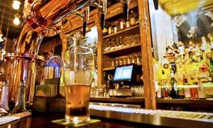 Spring Brothers Irish Pub: Sports-Bar Eats at Spring Brothers Irish Pub (Up to 50% Off). Two Options Available.