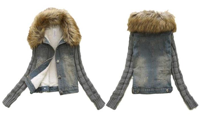 innovative design 72cc1 70cac Giacca di jeans da donna | Groupon Goods