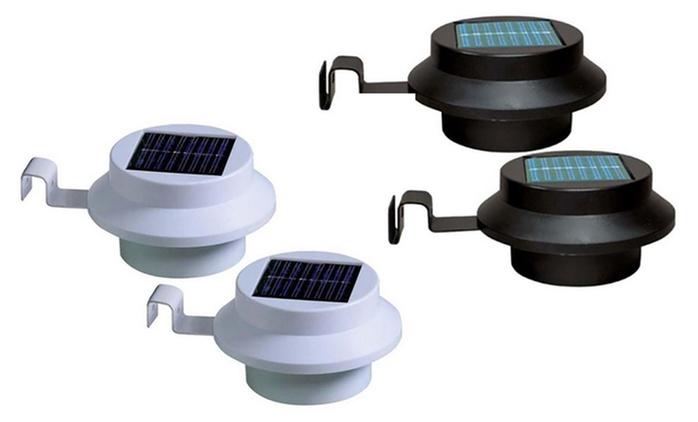 Luci solari da grondaia disponibili in 2 tipologie e vari colori da 12,90 € (fino a 78% di sconto)
