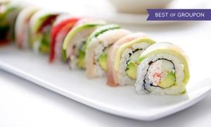 Sushi Kaiser (Zentrale): Sushi All-You-Can-Eat-Buffet für 2 oder 4 Personen bei Sushi Kaiser (bis zu 25% sparen*)