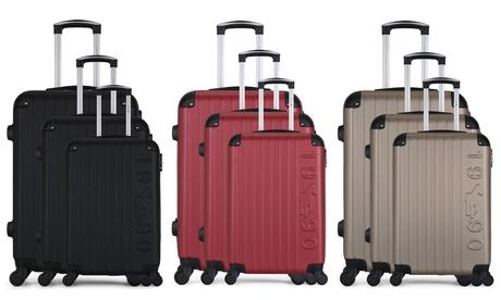 Set de 3 maletas de diseño ultra ligero de la marca Gentleman Farmer