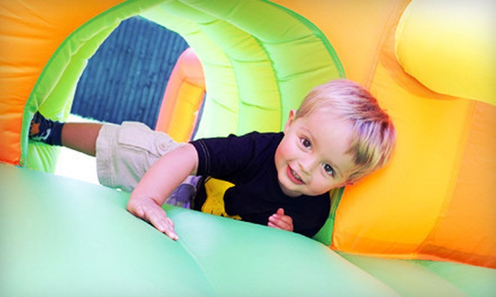 Hoppers Fun House - Town N County Park: Bounce Visit Wednesday–Friday or Saturday and Sunday for Two or Four at Hoppers Fun House (Up to 54% Off)