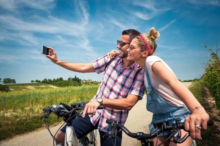 Noleggio 2 bici elettriche a 19,90€euro