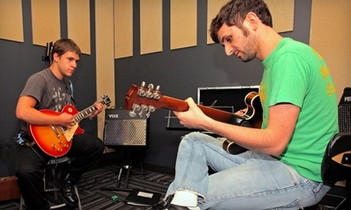 School of Rock - Multiple Locations: Four- or Eight-Week Private Music-Lesson Package at School of Rock (Up to 87% Off)