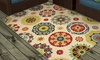 Salsalito Indoor or Outdoor Medallion Area Rugs