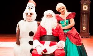 Jader Produções Artísticas: Frozen de Natal - As Aventuras de Olaf – Teatro Marista: 1 ingresso para dia 21 de dezembro