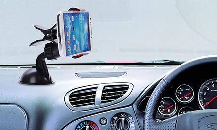 1,2 ou 3 supports de smartphones pour voiture rotatif à 360° et compatibles tous smartphones et GPS