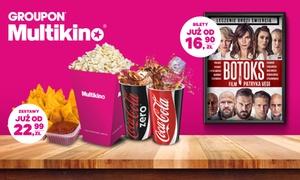 Multikino: Bilet na dowolny seans 2D (od 16,90 zł) lub 2 napoje z popcornem albo nachosami (od 22,99 zł) w Multikinie (do -43%)