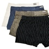 Hanes Men's No-Fly Trunk Boxer Briefs in Assorted Colors (4-Pack)