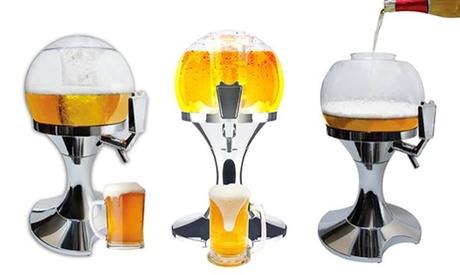 Uno o 2 spillatori, erogatori e raffreddatori di birra da 3,5 L