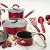 Rachael Ray Cucina Hard Enamel Nonstick Cookware Set (12-Piece)