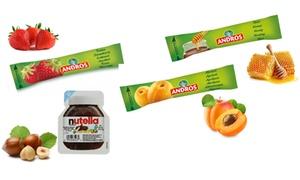 Sticks Andros et Barquettes Nutella