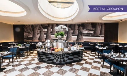 5* TwoCourse Meal with Prosecco for Two or Four at Crescent Restaurant And Lounge