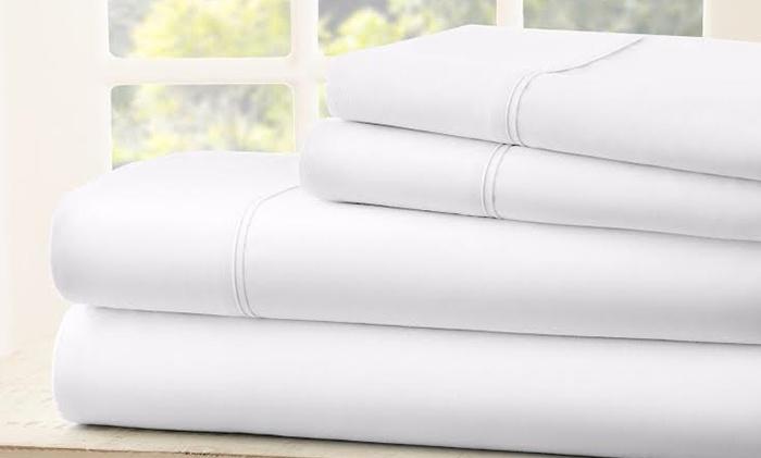 1800 Thread Count Egyptian Cotton Sheet Set 4 Piece