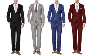 Braveman Men's Big and Tall Classic-Fit Suits (2-Piece)