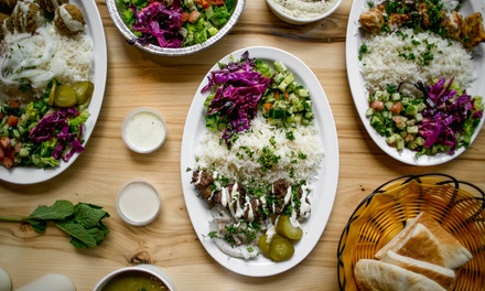 20% Cash Back at Rumi Middle Eastern Grill