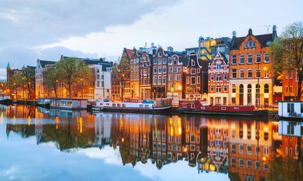 ✈ Amsterdam: 2 or 3 Nights with Breakfast, Return Flights and Optional Canal Cruise at 4* Premier Couture Hotel*