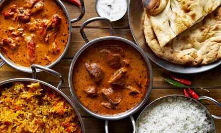 Three-Course Indian Dinner + Wine for Two ($49), Four ($98) or Six People ($147) @ Indian Paradise (Up to $267.60 Value)