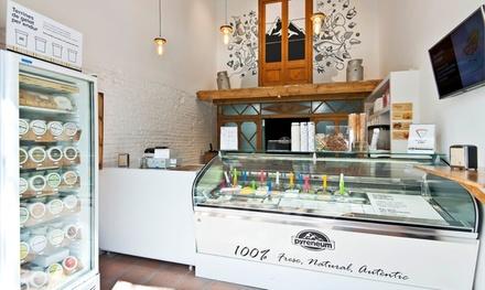 2 o 4 helados artesanales de tamaño mediano a elegir entre varios sabores desde 3,99 € en Gelats Pyreneum