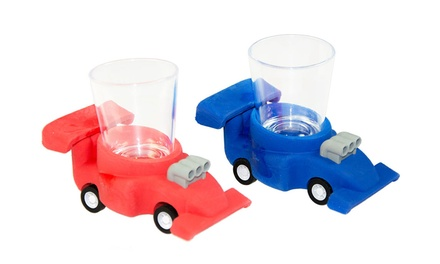 6-Pack of Racing Chaser Glasses