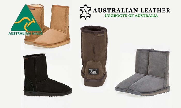 078639287d9 Australian Leather Classic Short 3/4 UGGs | Groupon