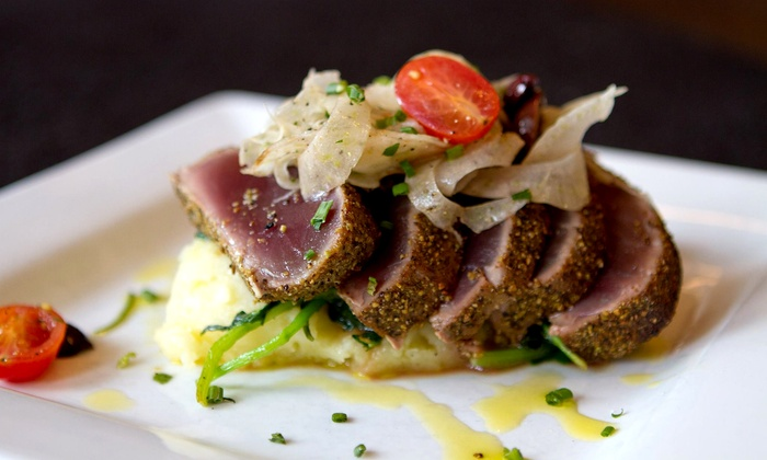 Liv's Oyster Bar - Old Saybrook Center: Dinner for Two at Liv's Oyster Bar (Up to 35% Off). Two Options Available.