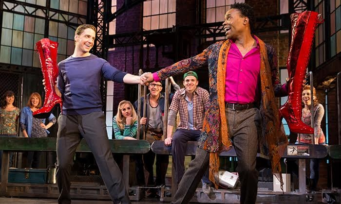 """Kinky Boots"" - Al Hirschfeld Theatre: ""Kinky Boots"" Through July 30"