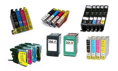 Cartucce compatibili per stampanti delle migliori marche disponibili in varie quantità e modelli