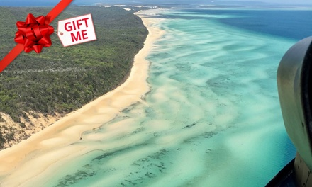 $379 for a 30Minute Private Helicopter Custom Flight for Two or Three at Queensland Helicopter SchoolUp to $850 Value