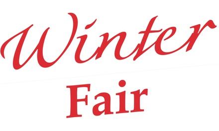 Ticket voor 2 personen voor Winter Fair Hardenbergop 9 t/m 11 november 2018 in Evenementenhal Hardenberg