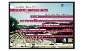 Opera al Teatro Romano di Ostia Antica: Opera al Teatro Romano di Ostia Antica dal 10 al 16 settembre (sconto fino a 40%)