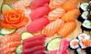 SAKE - Sushi Steak Wine - Victor Posner City Center: Japanese Food and Drinks at SAKE - Sushi Steak Wine (Up to 48% Off). Two Options Available.