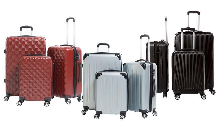 4fb81f660 Set de 3 maletas diseño Columbus | Groupon